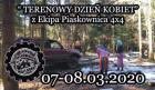 """Impreza """" TERENOWY DZIEŃ KOBIET"""" Z Ekipa Piaskownica 4x4"""